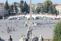 manifestazione ecomunica roma piazza del popolo